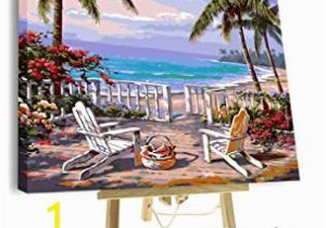 Paint by Number Wall Mural Kits Adults Amazon Paint by Numbers for Adults Framed Canvas and