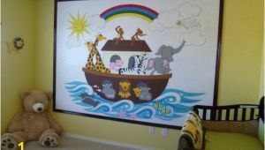 Paint by Number Wall Murals for Kids Rooms Noah S Ark Paint by Number Wall Mural