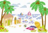 Paint by Number Wall Murals Nursery Beach Scene Paint by Number Wall Mural Kids