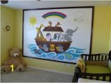 Paint by Number Wall Murals Nursery Noah S Ark Paint by Number Wall Mural