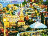 Paint by Numbers Wall Mural Kits City Landscape N12 Paint by Numbers