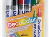 Paint Pens for Wall Murals Decocolor Paint Markers Blick Art Materials