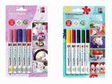 Paint Pens for Wall Murals Porcelain Paint Pens Permanent Porcelain Paint Marker Pens for Mugs
