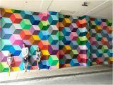 "Paint Splatter Wall Mural Super Deluxe"" Mural by Ricardo Paniagua 3699 Mckinney Ave"