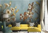 Paint Your Own Wall Mural Vintage Floral Wallpaper Retro Flower Wall Mural Watercolor Painting