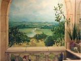Painted Bathroom Wall Murals Nice Trompe L Oeil