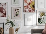 Painted Flower Wall Murals Us $3 33 Off Poppy Flower Plant Leaves Quotes nordic Posters and Prints Modern Wall Art Canvas Painting Wall for Living Room Decor In