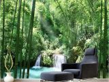 Painted Murals On Walls Custom 3d Wall Murals Wallpaper Bamboo forest Natural Landscape Art