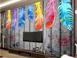Painted Murals On Walls Custom Any Size 3d Wall Murals Wallpaper Modern Hand Painted Wood