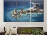 Painted Ocean Wall Murals 2019 Hd Canvas Prints Mexico Ocean Water Home Beach Unframed Painting Wall Fine Art for Room Decor From Kyrre $18 1