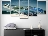 Painted Ocean Wall Murals 2019 Home Decor Canvas Wall Art Ocean World In A Wishing Bottle Paintings Hd Prints Beach Sailboat Poster From Print Art Canvas $16 41