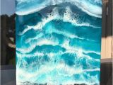 Painted Ocean Wall Murals Seascape Painting Resin Painting Ocean Painting Ocean Art