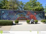 Painted Outdoor Wall Murals Full Wall Mural Editorial Stock Image Image Of Wall