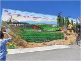 Painted Outdoor Wall Murals Mural Painted On Museum Outside Wall Picture Of Pleasant