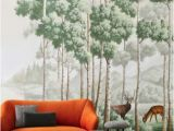 Painted Wall Mural Ideas for Living Room Misha Silk Wallcoverings for Living Room with Amber Route
