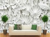 Painted Wall Mural Patterns Leaf Pattern Plaster Relief Murals 3d Wallpaper Living Room Tv Backdrop Bedroom Wall Painting Three Dimensional 3d Wall Paper Image Wallpaper