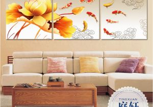 Painted Wall Murals Cost Buy Nine Fish Figure Frameless Painting Decorative Painting