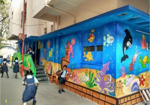 Painted Wall Murals Cost Create A Bold Room with Our 3d Wall Paintingfor Play School