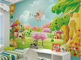 Painted Wall Murals Cost Wallpaper Mural 3d Mural Wallpaper Anime Cartoon Children