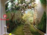 Painted Wall Murals Nature 20 Wall Murals Changing Modern Interior Design with Spectacular Wall