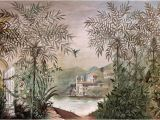 Painted Wall Murals Nature Palazzo Multi Coloured Mural by Coordonne
