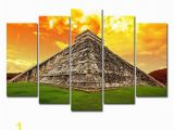 Painted Wall Murals Near Me Amazon Horgan Art 5 Panels Canvas Painting Wall Art