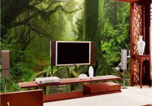 Painting A forest Wall Mural Ì¿Ì¿Ì¿ •Ìª Custom Mural Photo 3d Room Wallpaper Tropical Rain