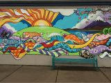 Painting A Mural On A Textured Wall Elementary School Mural Google Search