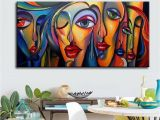 Painting A Mural On A Wall with Acrylic Paint 2019 Mintura Oil Painting with Hand Painted Canvas for