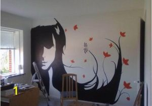 Painting A Mural On A Wall with Acrylic Paint Easy Wall Mural Ideas