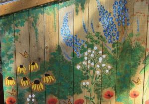 Painting A Mural On A Wall with Acrylic Paint Garden Mural On Chicken Coop Free Hand Painting with Acrylic Paint