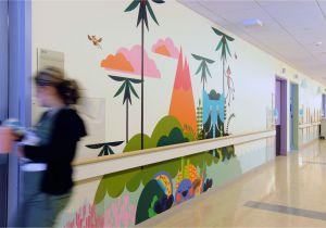 Painting Childrens Wall Murals Mattel Children S Hospital Phase 2