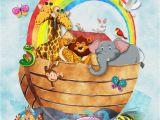 Painting Childrens Wall Murals Noahs Ark Children S Wall Art Nursery Decor Baby Gift Children S Room Decor Instant Download Printable