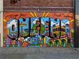 Painting Mural On Brick Wall Rob anderson Art