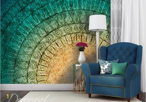 Painting Murals On Bedroom Walls A Mural Mandala Wall Murals and Photo Wallpapers Abstraction
