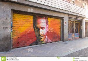Painting Murals On Cement Walls Tribut Zum Schauspieler andrew Lincoln In Der Persönlichkeit