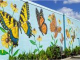 Painting Murals On Outside Walls Lovely butterfly Mural by Artist Chip Wilkinson In south norfolk