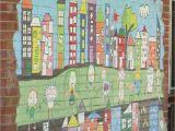 Painting Murals On School Walls Colourfulworld Monday Mural Kindy Fun Ii