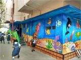 Painting Murals On School Walls Create A Bold Room with Our 3d Wall Paintingfor Play School
