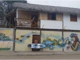 Painting Murals On Walls Outside the Outside Mural Across From Adicto Surf Picture Of Hotel