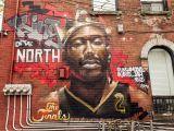 Painting Murals On Walls Outside toronto Just Got A New Kawhi Leonard Mural