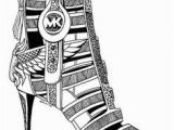 Pair Of Shoes Coloring Page 93 Best Fashion Coloring Pages Images