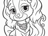 Palace Pets Free Coloring Pages Teacup Malen