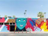 Palm Springs Wall Mural Art Plutonium Paint