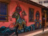 Palm Springs Wall Mural Dive Into Bogotá S Street Art Scene