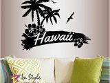 Palm Tree Mural Decal Amazon In Style Decals Wall Vinyl Decal Home Decor Art Sticker