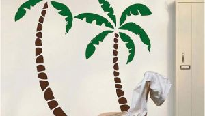 Palm Tree Mural Decal Palm Tree Decals Palm Tree Wall Sticker Murals Nursery Palm Tree