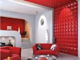 Panneau Mural 3d Wall Art Decorative 3d Wall Panels In Red Keep the Decor Style Of the