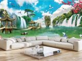 Panoramic Wall Art Murals 3d Room Wallpaper Custom Non Woven Mural Hd Panoramic Landscape Landscape Painting Fairyland Living Room Tv Wallpaper for Walls 3 D Wallpaper