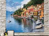 Panoramic Wall Art Murals Amazon Iprint Polyester Tapestry Wall Hanging Italian